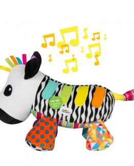 Музыкальная игрушка Зебра Lamaze Cosimo Concerto L27421A